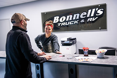 RV Customer Care at Bonnell's Truck & RV Collision Center Photo